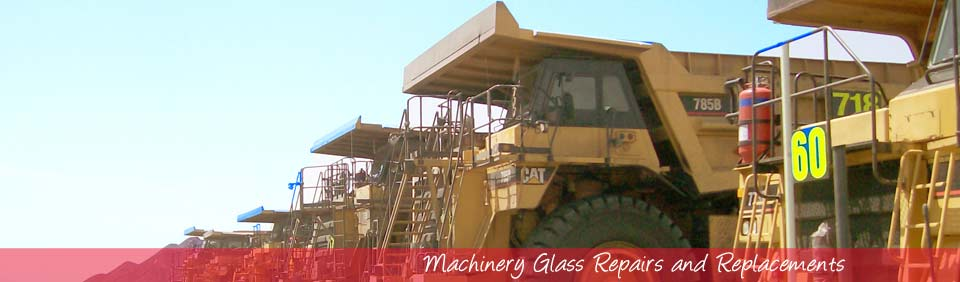 Choose CQ AUTOGLASS & AIR-CONDITIONING for all your machinery glass repair and replacements